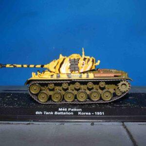 Deagostini DVT-09 - M46 Patton Medium Tank , 6th Tank Battalion US Army , Imjin River 1951