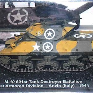 Deagostini DVT-10 - M10 Wolverine GMC , 601st Tank Destroyer Battalion 1st Armored Division U.S.Army , Battle of Anzio Italy 1944