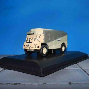 "Dorchester ACV - Armoured Command Vehicle AEC , ""MAX"" E. Rommel DAK Deutsches Afrikakorps.Oxford Military 76DOR004."