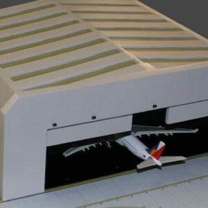 Gemini Jets GJWBHGR2 - Wide-Body Airport Hangar