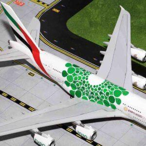 GeminiJets G2UAE774 - Airbus A380-800 , 'A6-EEW' Emirates 'EXPO 2020'