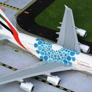 GeminiJets G2UAE779 - Airbus A380-800 , 'A6-EOC' Emirates 'EXPO 2020'