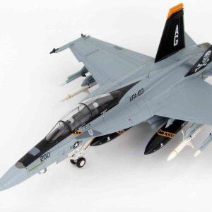 McDonnell Douglas F/A-18F Super Hornet , '166620' VFA-103 'Jolly Rogers' USN , USS Eisenhower 2012.Hobby Master HA5102.