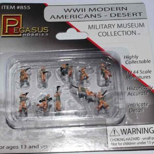 Pegasus HOBBIES PH 855 - American Soldiers U.S. Army