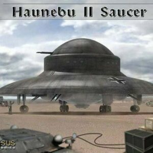 Pegasus HOBBIES PH 9119 - Haunebu I , Secret German Flying Saucer Luftwaffe (KIT)