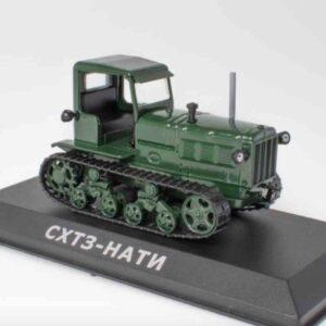 Altaya MAG MR135 - SKhTZ-NATI Tractor ATZ-Altai Tractor Plant-KhTZ -Kharkiv Tractor Plant-Kharkivskyi Traktornyi Zavod , USSR 1942