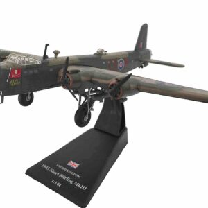 """Amercom AM LP36 - Short Stirling Mk.III , 'LJ525 / EX-R' """"Jollly Roger"""" No.199 Sqn. RAF , RAF North Creake"""
