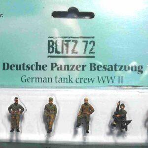 BLITZ 72 / PMA BL- 00002 - German Tank Crew - Panzergrenadier PzG Wehrmacht