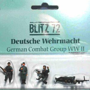 BLITZ 72 / PMA BL- 00003 - German Combat Group - Panzergrenadier PzG (deutsche gefechts und panzer infanterie) Wehrmacht