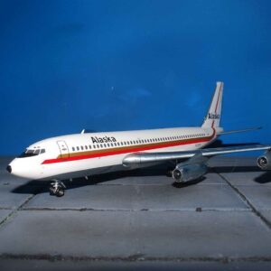 Boeing B720 -062 , 'N720V' Alaska Airlines.Inflight 200 IF7200915.