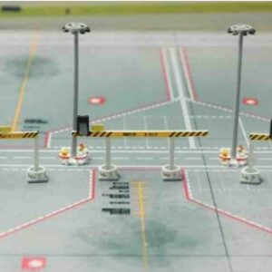 Fantasy Wings FWDP-AP-4006 - Airport Service Quter Bay Equipment Set