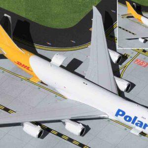Gemini Jets GJPAC1898 - Boeing 747-8F , 'N853 Polar Air Cargo - DHL