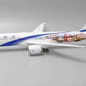 "JC Wings JC- XX2306 - Boeing B787-9 Dreamliner , '4X-EDD' ""Las Vegas - San Francisco"" El Al Israel Airlines"