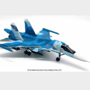"JC Wings JCW-72-SU34-003 - Su-34 Fullback , '10/RF-95841′ ""Олег Пешков / Oleg Peshkov"" Russian Air Force , 2017.Modely letadel."