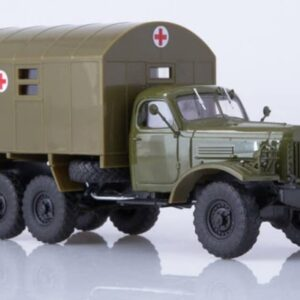 MODIMIO Collections Russian Trucks TR1040 - ZIL-157 Truck KUNG Ambulance , Soviet Army