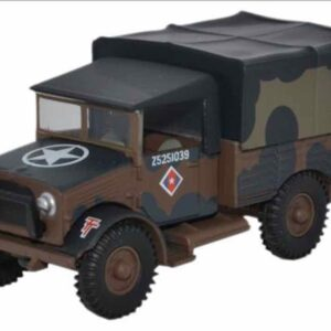 """Oxford Military OX- 76MWD001 - Bedford MWD , """"Mickey Mouse"""" 50th (Northumbrian) Infantry Div. British Army"""
