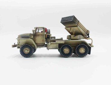 PMA P0338 - BM-21 Grad Multiple Rocket Launcher / URAL-375 , Operation Inherent Resolve (OIR) , Iraq 2017