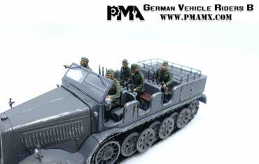 PMA P0404 - German Vehicle Riders