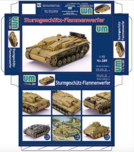 UM 289 Sturmgeschutz Flammenwerfer / САУ Sturmgeschutz огнемётный