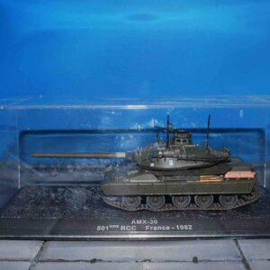 Atlas Editions MAG BY92 - AMX-30 MBT Main Battle Tank , 501e R.C.C (Régiment de chars de combat)- 501st Combat Tank Regiment French Army , 1982