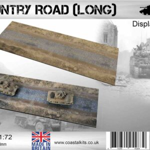 Coastal Kits CKS022L-72 - DIORAMA 1/72 Display Base - Silnice-Country Road (Long)