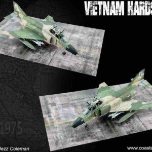 Coastal Kits CKS108-72 - DIORAMA 1/72 Display Base Vietnam Hardstand