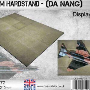 Coastal Kits CKS108D-72 - DIORAMA 1/72 Display Base Vietnam Hardstand , Da Nang