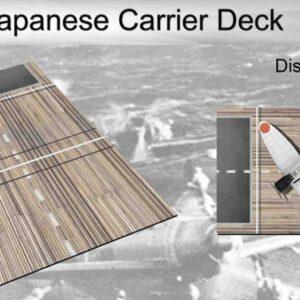 Coastal Kits CKS119-48 - DIORAMA 1/48 Display Base - Letová paluba – WW2 Japanese Carrier Deck
