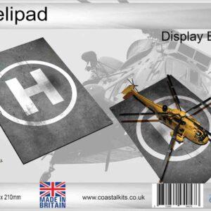 Coastal Kits CKS120-72 - DIORAMA 1/72 Display Base - Helipad
