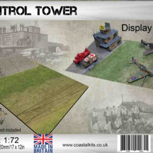 Coastal Kits CKS1200-72 - DIORAMA 1/72 Display Base - Řídicí Věž Letiště - Airfield Control Tower