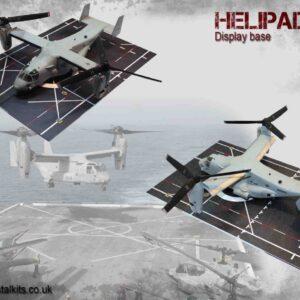 Coastal Kits CKS170-72 - DIORAMA 1/72 Display Base - Helipad 2