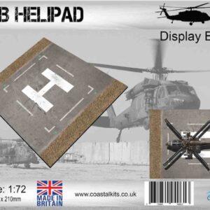 Coastal Kits CKS171-72 - DIORAMA 1/72 Display Base - FOB Helipad