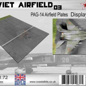 Coastal Kits CKS242-72 - DIORAMA 1/72 Display Base - Vojenské Letiště - Soviet Airfield 3