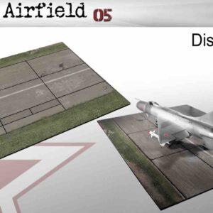 Coastal Kits CKS245-72 - DIORAMA 1/72 Display Base - Vojenské Letiště - Soviet Airfield 05