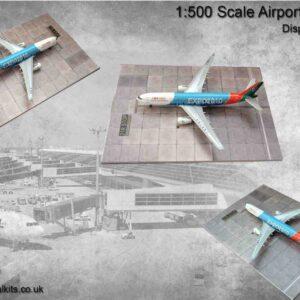 Coastal Kits CKS251-500 - DIORAMA 1/500 Display Base - Letiště - Airport Apron