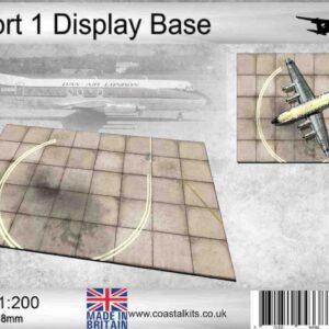Coastal Kits CKS252-200 - DIORAMA 1/200 Display Base - Letiště-Airport Display Base 1