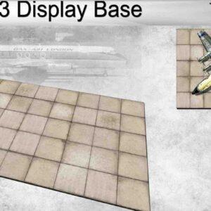 Coastal Kits CKS254-200 - DIORAMA 1/200 Display Base - Letiště-Airport Display Base 3