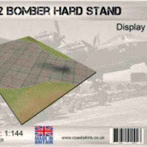 Coastal Kits CKS300-144 - DIORAMA 1/144 Display Base - Vojenské Letiště - WW II Bomber Hard Standing