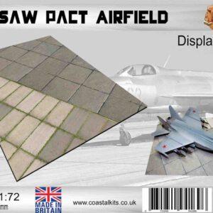 Coastal Kits CKS610-72 - DIORAMA 1/72 Display Base - Vojenské Letiště Varšavská smlouva - Warsaw Pact Airfield