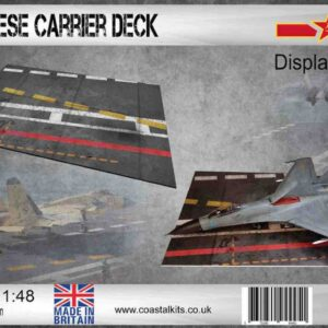 Coastal Kits CKS626-48 - DIORAMA 1/48 Display Base - Letová paluba – Chinese Carrier Deck