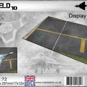 Coastal Kits CKS632-72 - DIORAMA 1/72 Display Base - Vojenské Letiště - Soviet Airfield 10