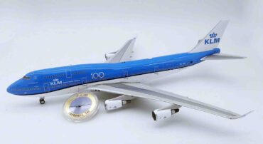 Inflight 200 IFKLM747FAREWELL - Boeing B747 -400 , 'PH-BFA' KLM Royal Dutch Airlines + COLLECTORS COIN