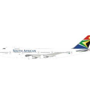 J Fox Models JF-747-2-016 - Boeing B747 -244B , 'ZS-SAL' South African Airways