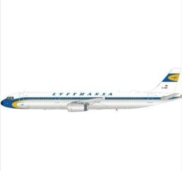 J Fox Models JF-A321-013 - A321-231 , 'D-AIDV' Lufthanasa (RETRO)