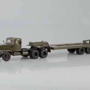 Start Scale Models SSM7028 - KrAZ-255B Semi-Tractor-Trailer Truck. Podvalník.Trailer ChMZAP-5523