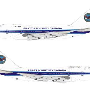 InFlight 200 IF74SPPW1120 - BOEING 747SP -B5 (B747) , 'C-GTFF' Pratt & Whitney Canada