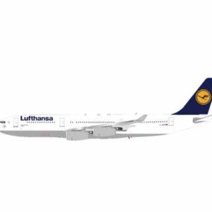 J Fox Models JF-A340-2-002 - Airbus A340-211 , 'D-AIBF' LUBECK Lufthansa
