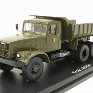 Premium ClassiXXs PCL47043 - KRAZ-255 B Sklápěč - Dump Truck , NVA - National People's Army , DDR