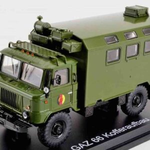 Premium ClassiXXs PCL47098 – GAZ-66 Truck KUNG , NVA.National People's Army GDR