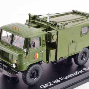 Premium ClassiXXs PCL47099 – P-142 KShM -Command Vehicle / GAZ-66 Truck KUNG , NVA.National People's Army GDR